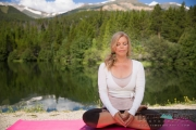 Yoga Shoot in Breckenridge