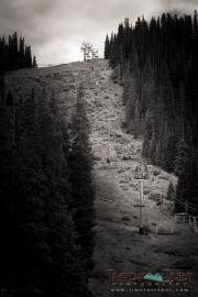 Chairlift to wedding venue