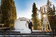 Breckenridge Wedding Portrait