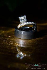 Ring with flashlight