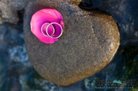 Ring and wet rocks