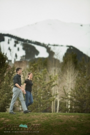Breckenridge Engagement Photo