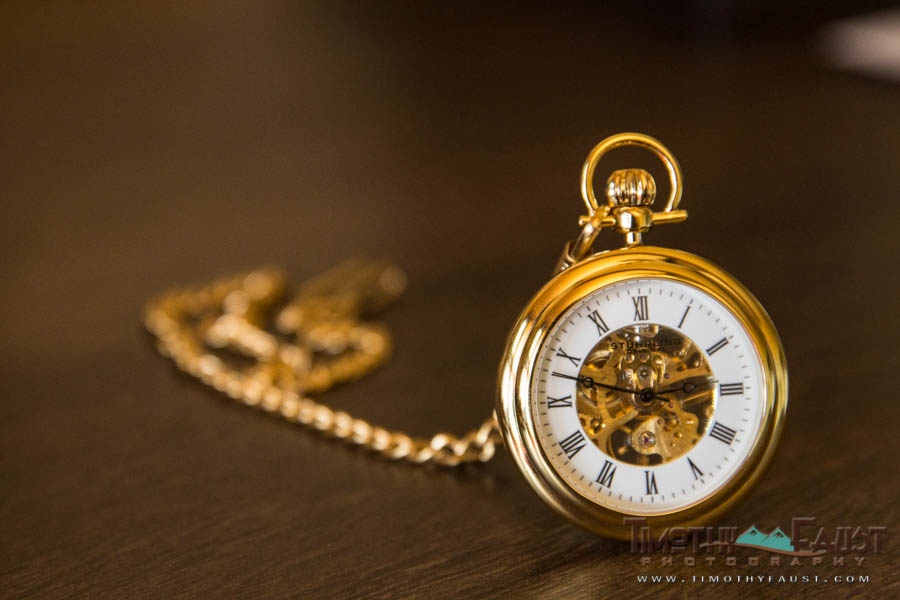 Groom's pocketwatch