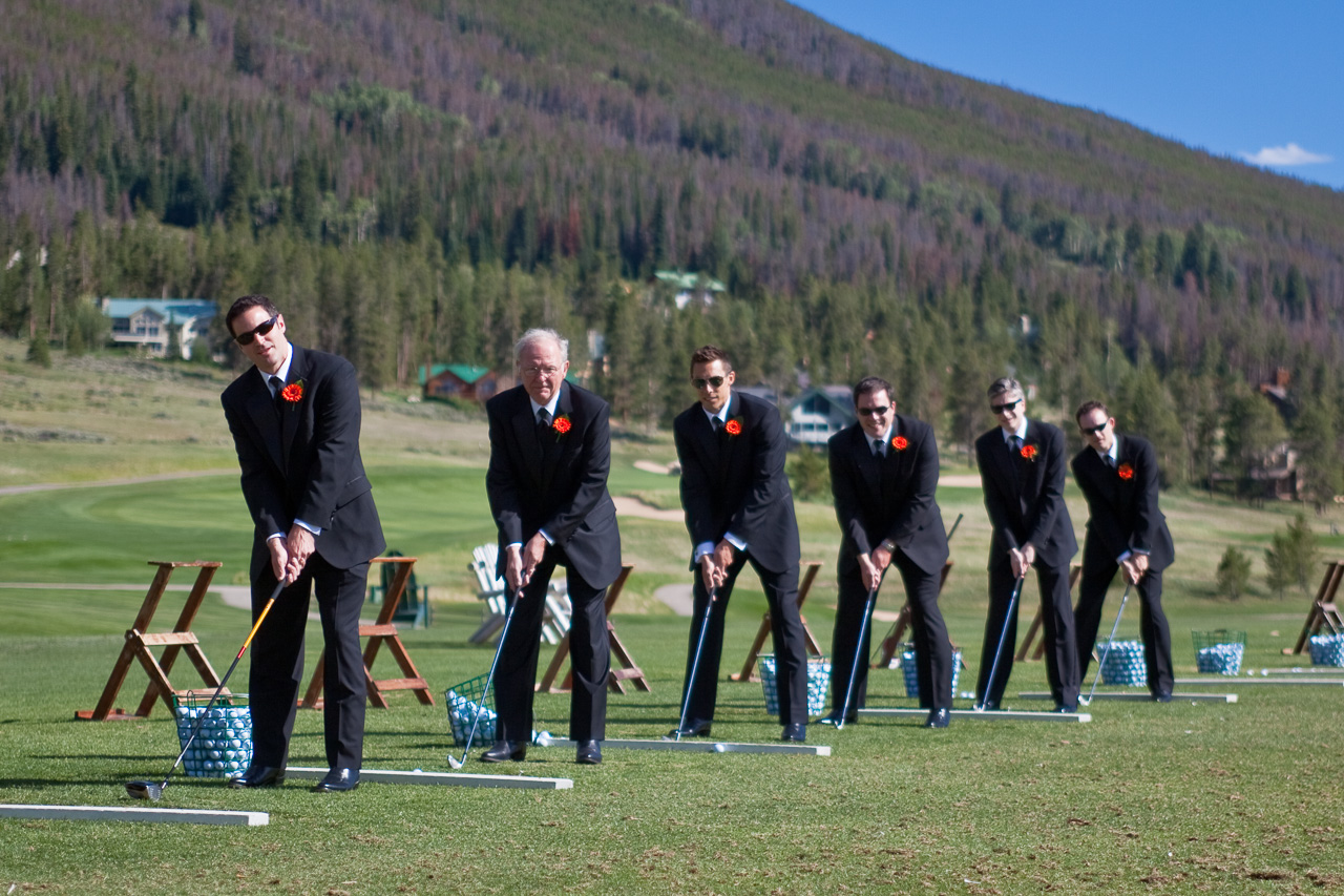 Groomsmen in Colorado