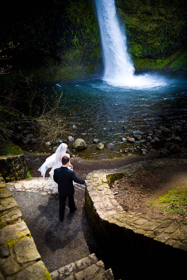 Wedding near Portland Oregon
