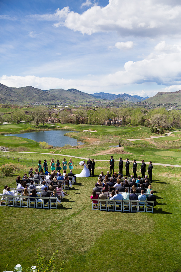 Wedding in Golden, Colorado