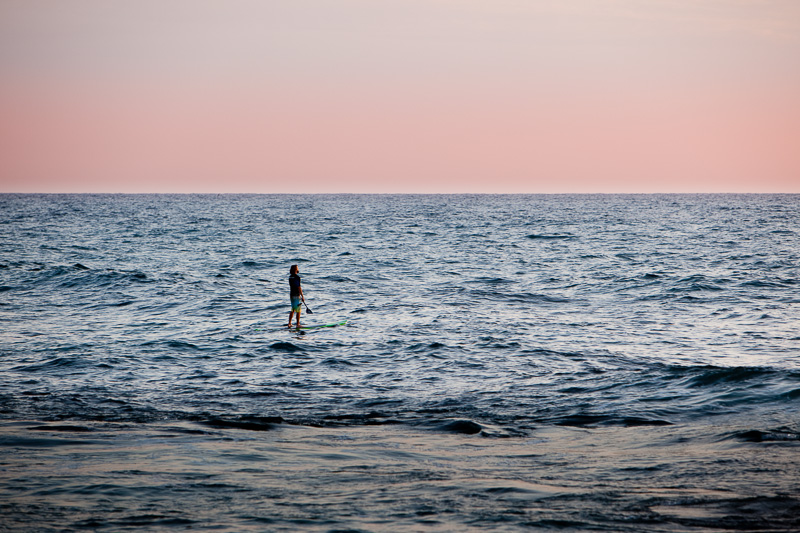 Stand up Paddler in the Pacific Ocean from Timothy's magazine photography