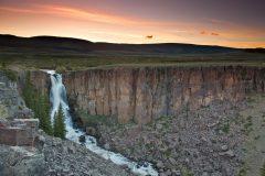 North Clear Creek Falls at Dusk