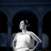 Bridal Portrait at Ault Park, Cincinnati