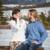 Katie and Kyle, Frisco, CO