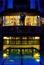 Bride and Groom at the Chateau in Beaver Creek, Colorado