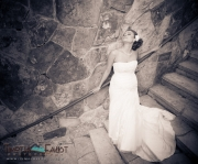 Abstract Bridal Portrait