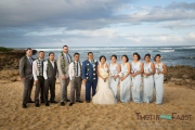 Group wedding portrait