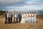 Group wedding portrait