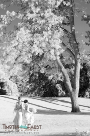 Wedding Couple Infrared
