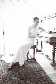 Mari at piano
