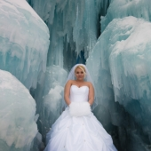 Bride in the Ice Castles