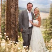 Newlyweds in Breckenridge