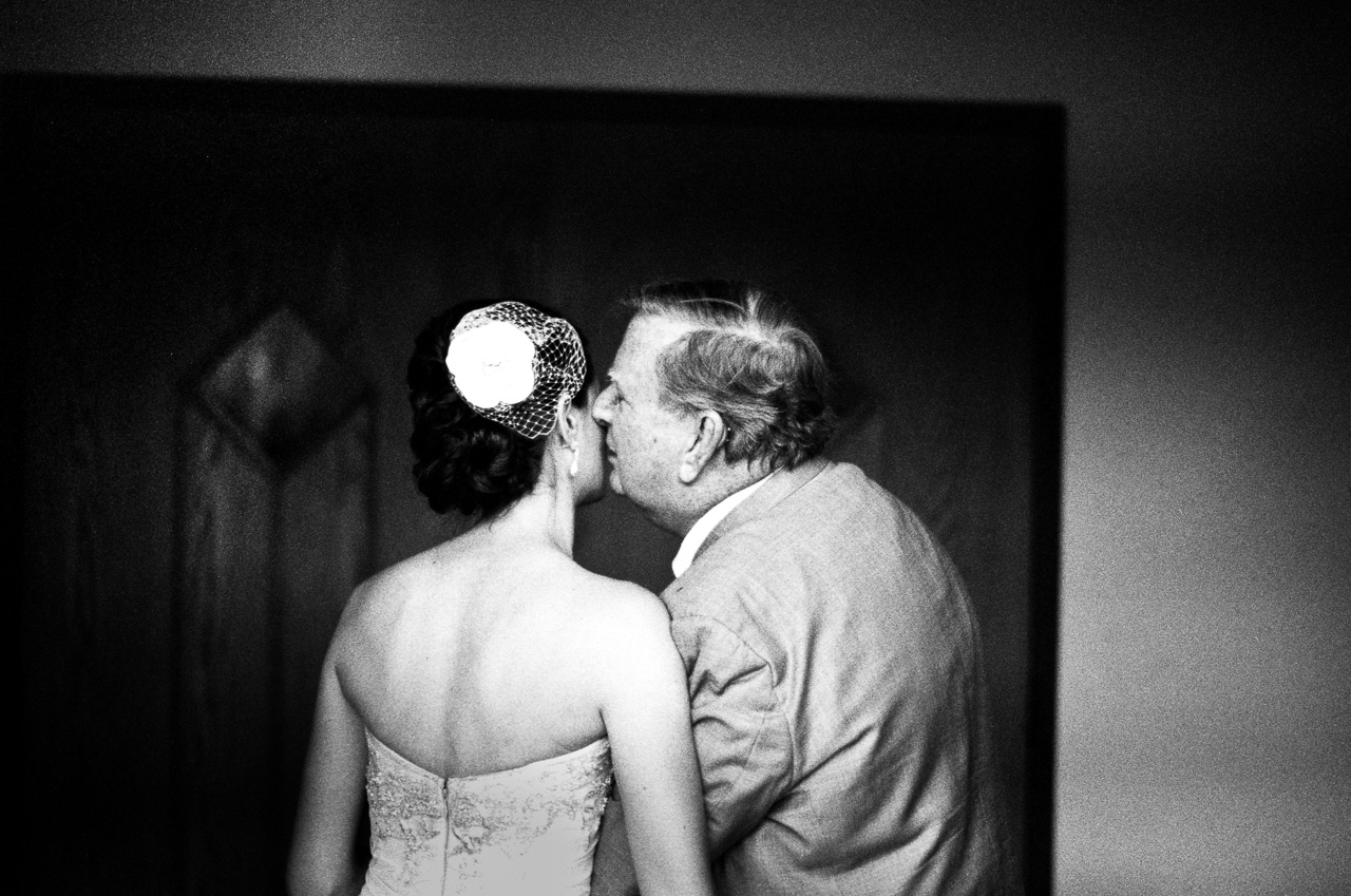 Father and Bride (B&W Film)