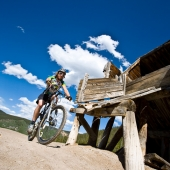 Mountain Biker in Colorado