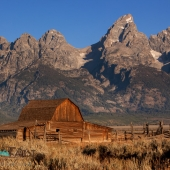 Moulton Barn and Grand Tetons, Wyoming