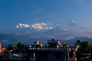 Rooftops and Annapurna