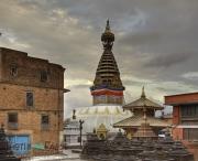 Swayambunath Stupa in Kathmandu