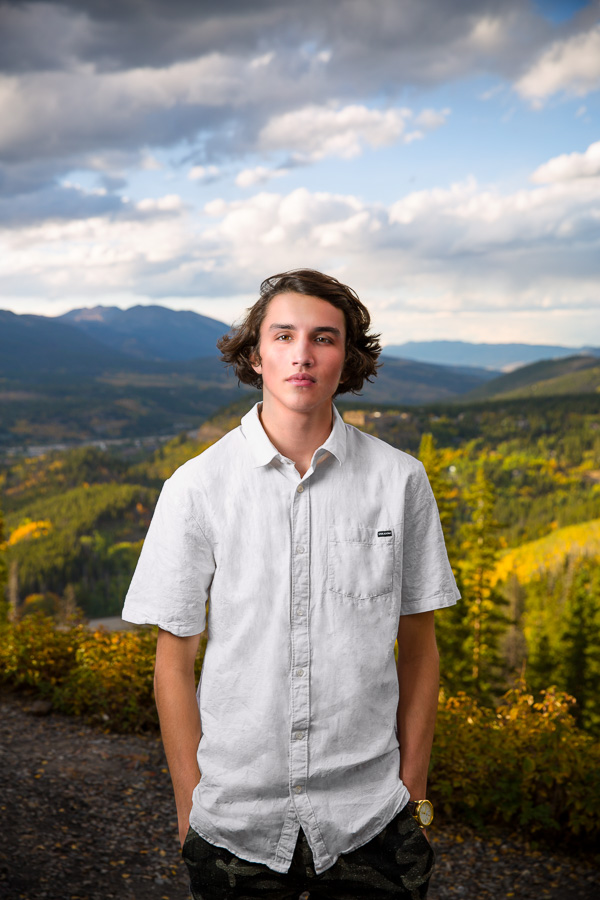 Breckenridge Senior Portrait