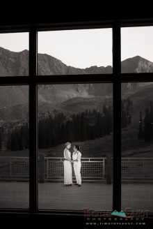 Brides at A-basin