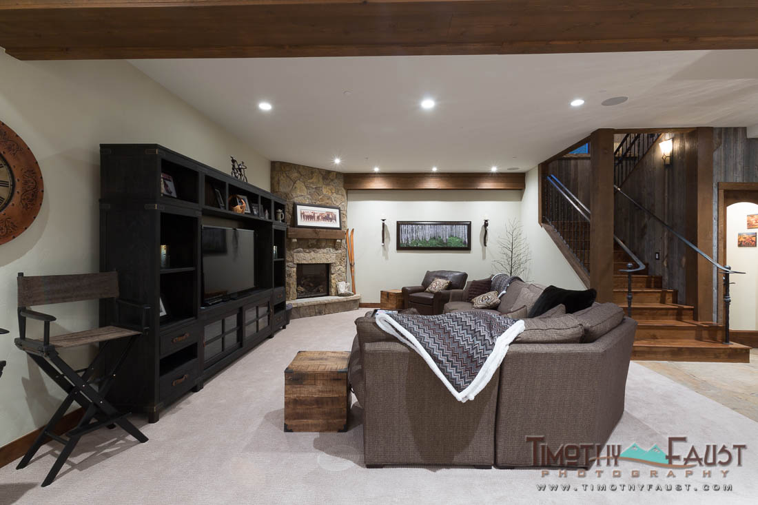 Family Room Home Theater Interior