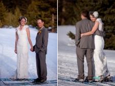 Colorado winter wedding in 2011