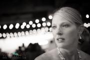 Bride at ceremony