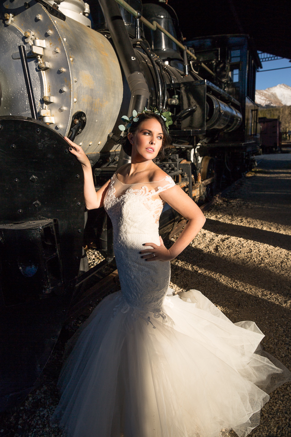 Breckenridge bride train