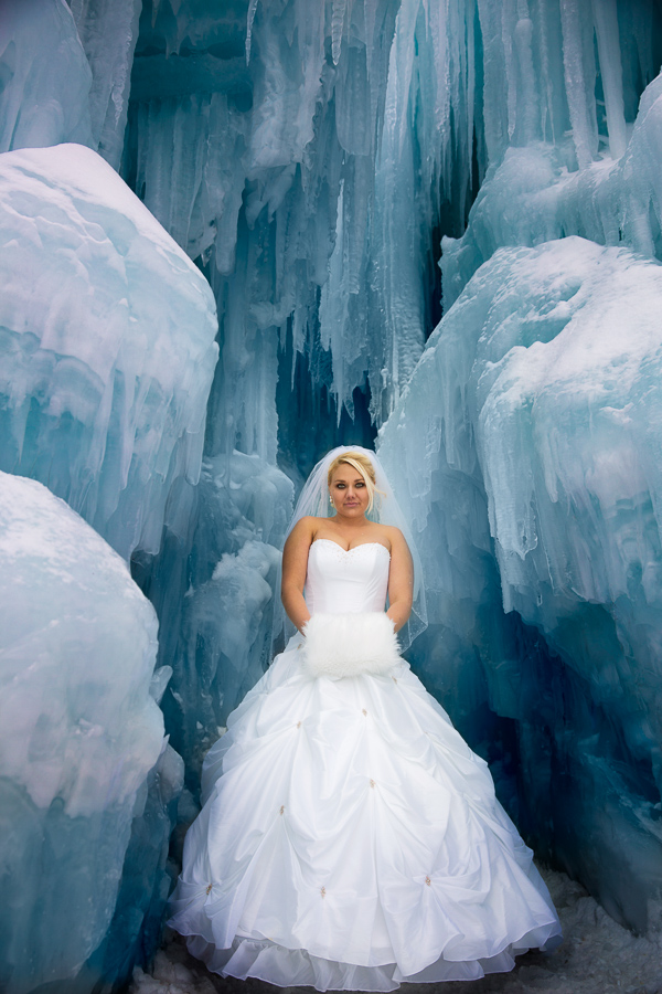 bride ice castle