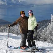 Ski weekend in Lake Tahoe
