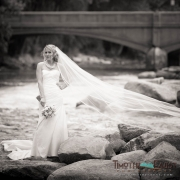 Bride in Colorado