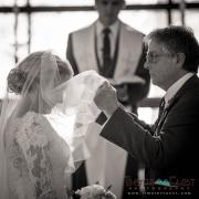 Bride and Father in Beaver Creak