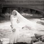 Bride by Arkansas River