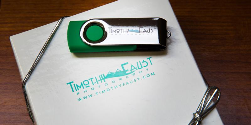 Thumb drive and box