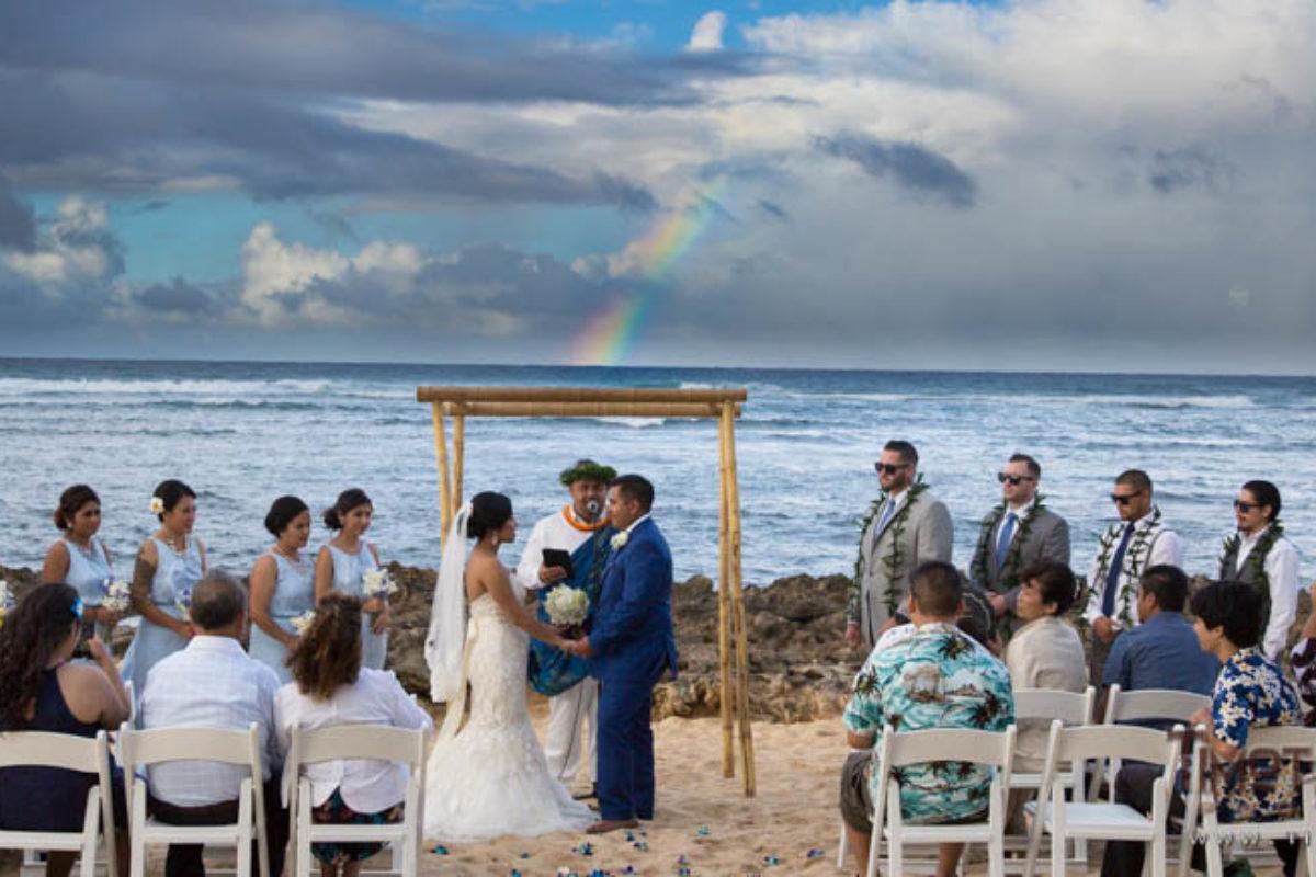 Lisa and Salvador's Wedding on Oahu, Hawaii