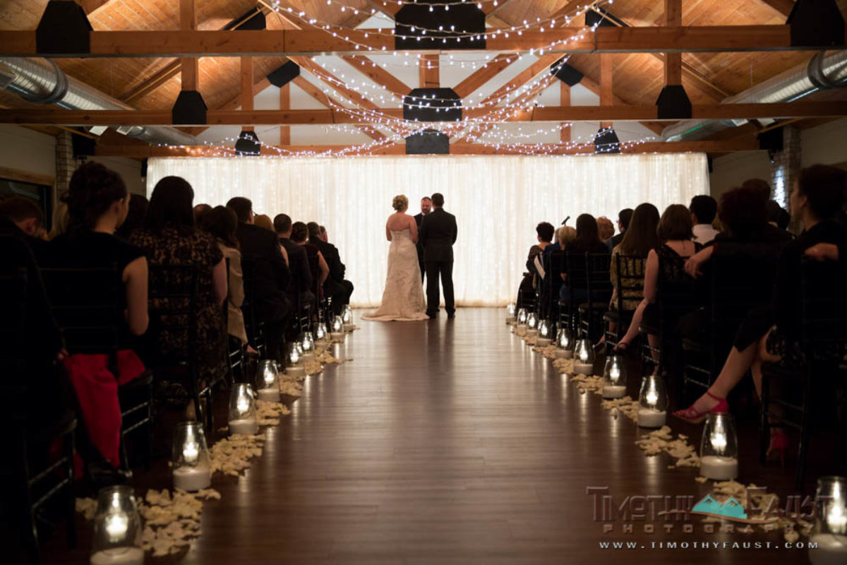 Mary and Ben's Christmas Themed Illinois Wedding