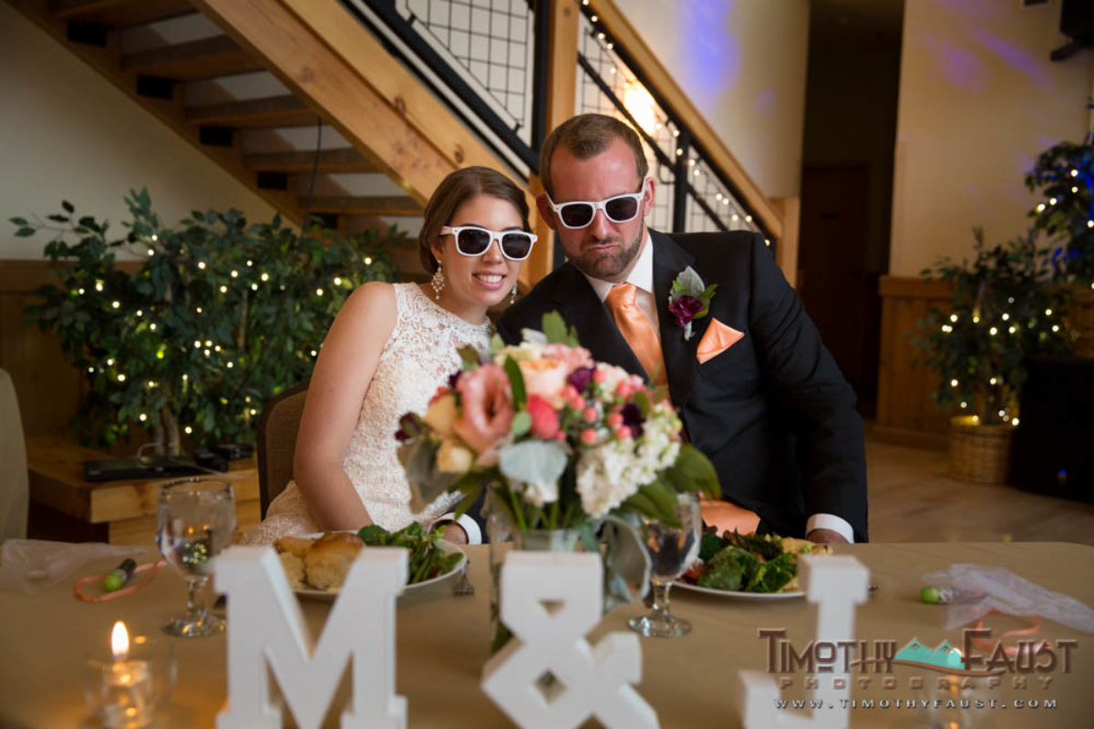 Jeff and Michelle's Silverthorne, Colorado Wedding