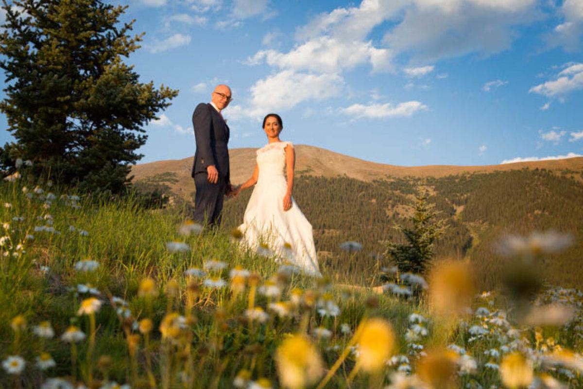 Bridget and Matt's Copper Mountain Wedding