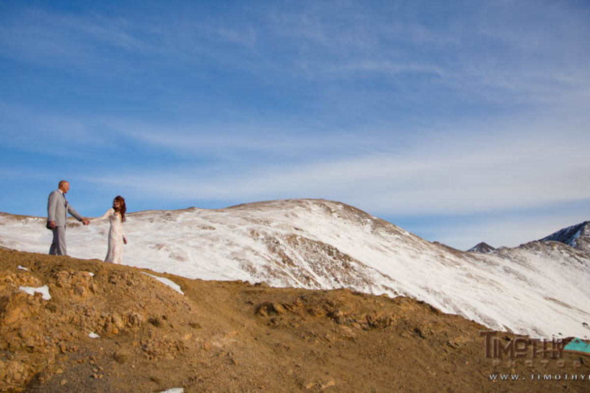 Michelle and Manny's Winter Silverthorne Wedding