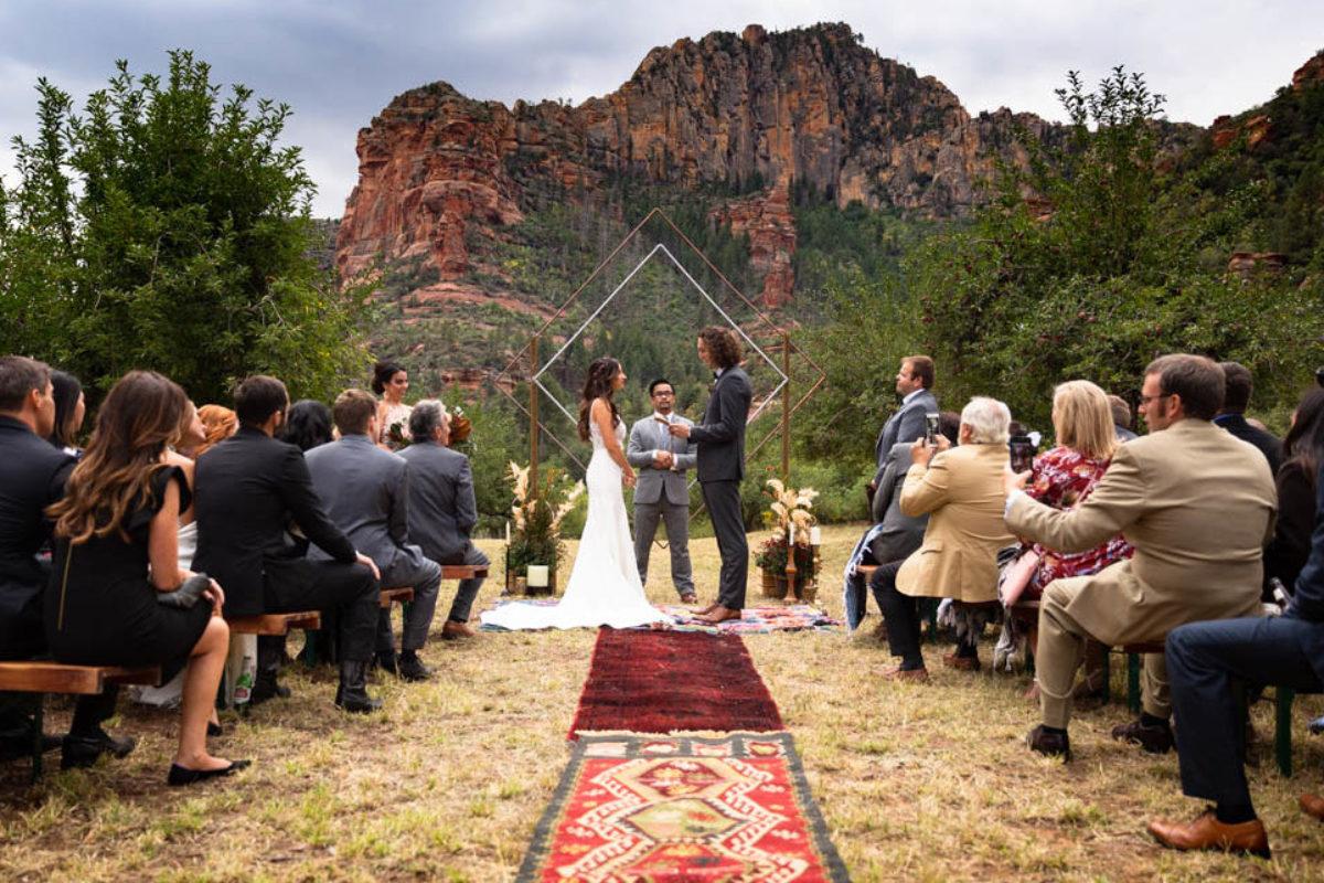Kevin and Kelly's Sedona Arizona Wedding