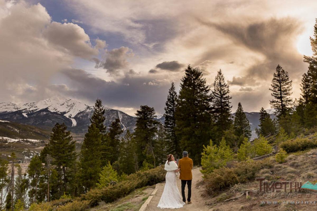 Tanille and Larry's Breckenridge, Colorado Wedding