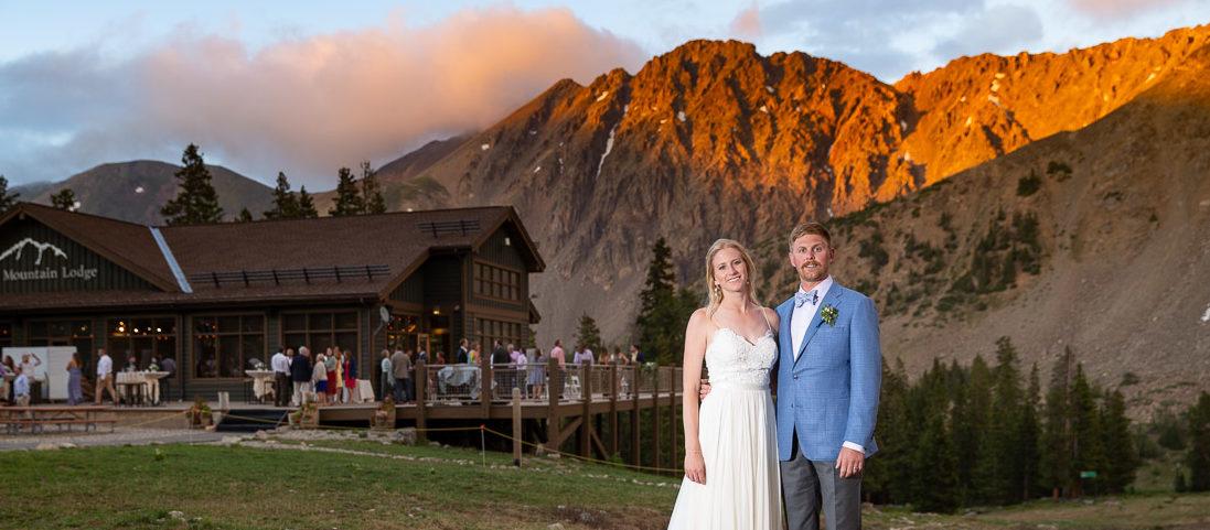 Cate and Dan's Arapahoe Basin Wedding